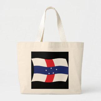 Netherlands Antilles Flag Tote Bag