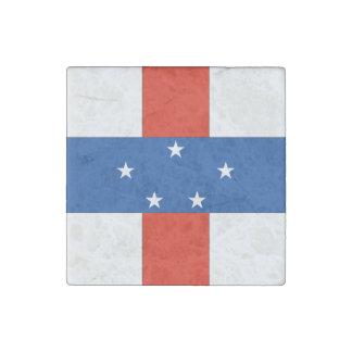 Netherlands Antilles Stone Magnet