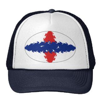 Netherlands Antilles Gnarly Flag Hat