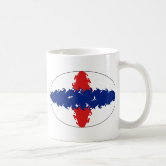 Netherlands Antilles Gnarly Flag Mug