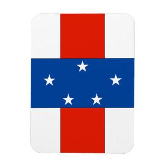 Netherlands Antilles Rectangular Magnet