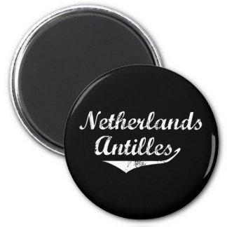 Netherlands Antilles Revolution Style Magnet