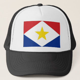 Netherlands Antilles Saba Flag Trucker Hat