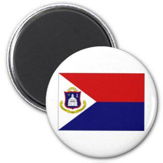 Netherlands Antilles St Maarten Flag Refrigerator Magnet