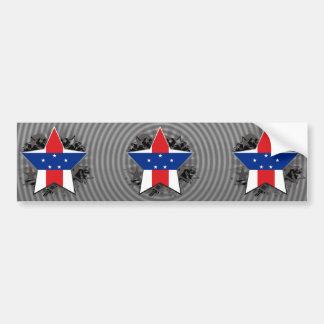 Netherlands Antilles Star Bumper Stickers