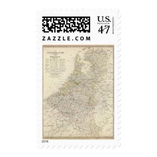 Netherlands, Belgium Stamp