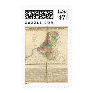 Netherlands, Beligium Atlas Map Postage