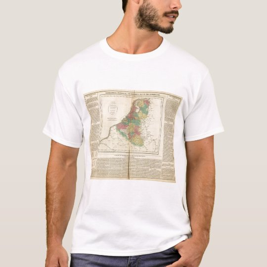 Netherlands, Beligium Atlas Map T-Shirt