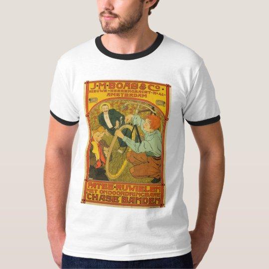 Netherlands Bicycle Repair Advertisement 1897 T-Shirt