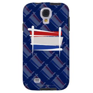 Netherlands Brush Flag Galaxy S4 Case