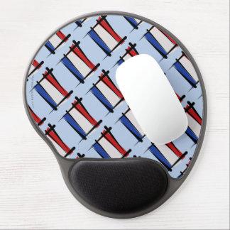 Netherlands Brush Flag Gel Mouse Pad