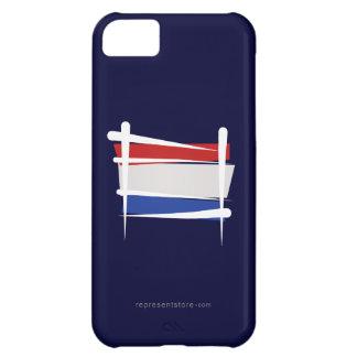 Netherlands Brush Flag iPhone 5C Cases