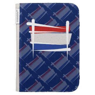 Netherlands Brush Flag Kindle 3G Cases