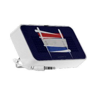 Netherlands Brush Flag Notebook Speakers