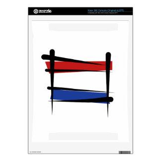 Netherlands Brush Flag Skins For Xbox 360