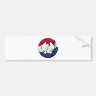 Netherlands Car Bumper Sticker