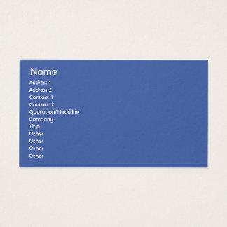 Netherlands - Business Business Card