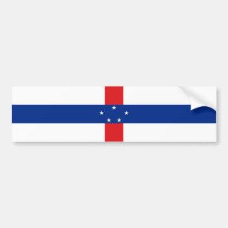 Netherlands/Dutch Antilles Flag (1986-2010) Bumper Sticker