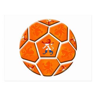 Netherlands Dutch flag Soccer ball gifts Postcard