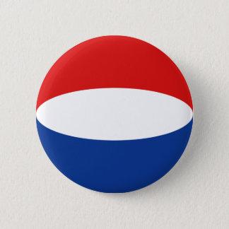 Netherlands Fisheye Flag Button