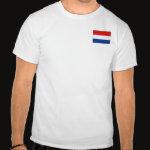 Netherlands Flag Map Basic T-Shirt