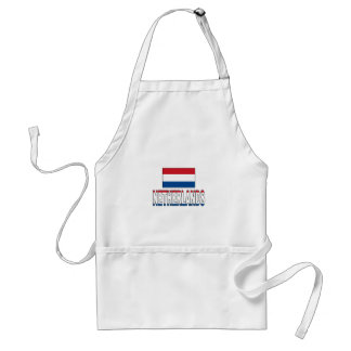 Netherlands flag aprons