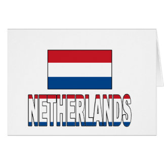 Netherlands flag cards