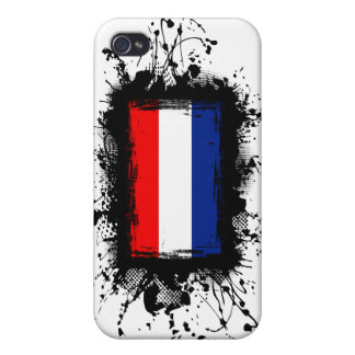 Netherlands Flag Cover For iPhone 4