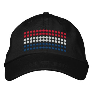 Netherlands Flag Embroidered Baseball Cap