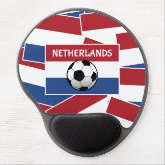 Netherlands Flag Football Gel Mouse Pad