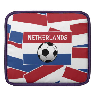 Netherlands Flag Football Sleeves For iPads