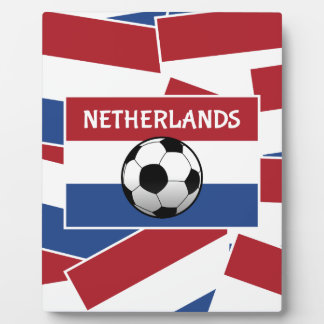 Netherlands Flag Football Plaques