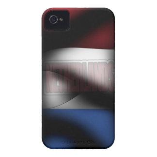 Netherlands Flag Iphone 4/4S Case-Mate Case
