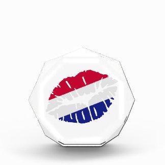 Netherlands flag kiss award