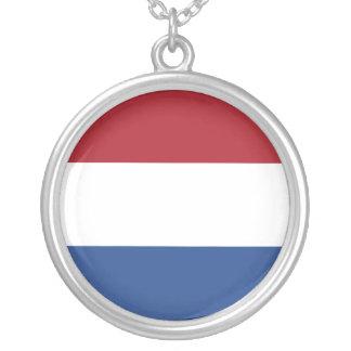 Netherlands Flag Necklace