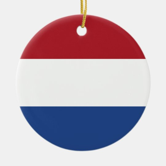Netherlands Flag Ornament