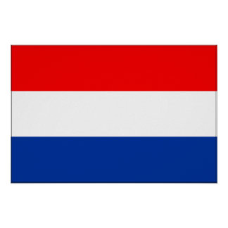 Netherlands Flag Posters