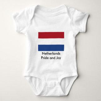 Netherlands Flag The MUSEUM Zazzle Baby Bodysuit