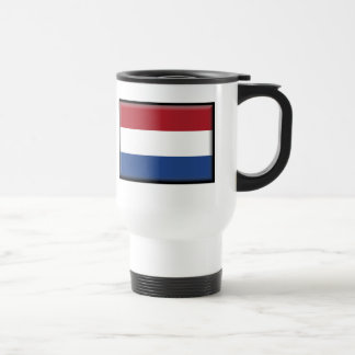 Netherlands Flag Travel Mug