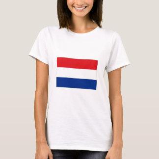 Netherlands flag tshirt