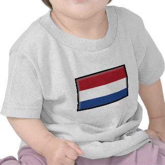Netherlands Flag Tee Shirt