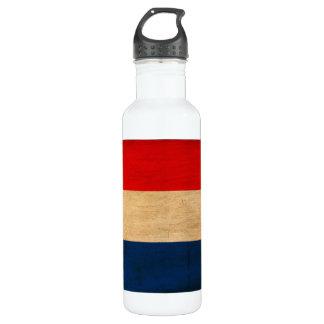 Netherlands Flag Water Bottle