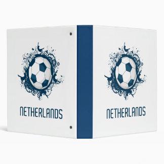 Netherlands Football 3 Ring Binder