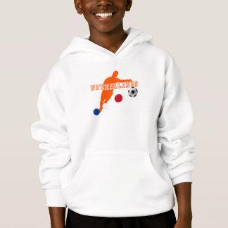 Netherlands football player soccer ball gear hoodie