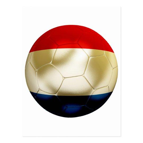 Netherlands Football Postcard