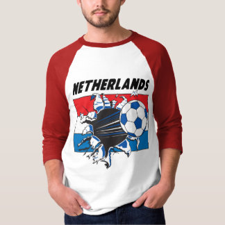 Netherlands Futbol Soccer Team T-Shirt