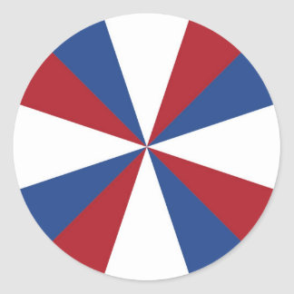Netherlands Holland flag Round Stickers