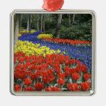 Netherlands, Holland, Lisse, Keukenhof Gardens Metal Ornament
