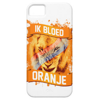 "Netherlands ""I Bleed Orange"" in Dutch iPhone 5 Covers"
