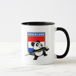Combo Mug with Dutch Javelin Panda design